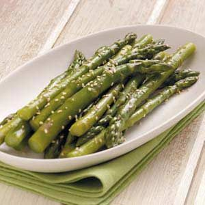 Asparagus with Sesame Seeds