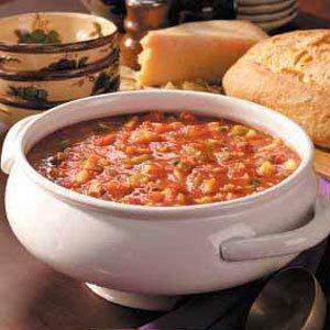 Tomato Clam Chowder