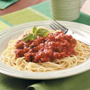 Tangy Meat Sauce