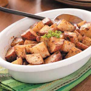 Buttery Garlic Potatoes