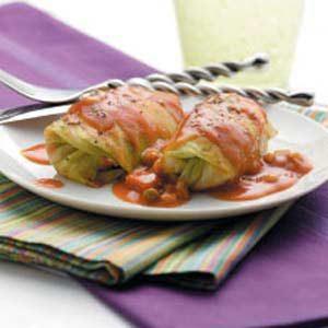 Italian-Style Cabbage Rolls