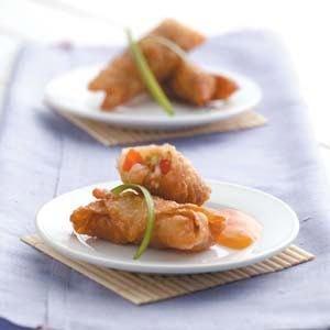 Veggie Shrimp Egg Rolls