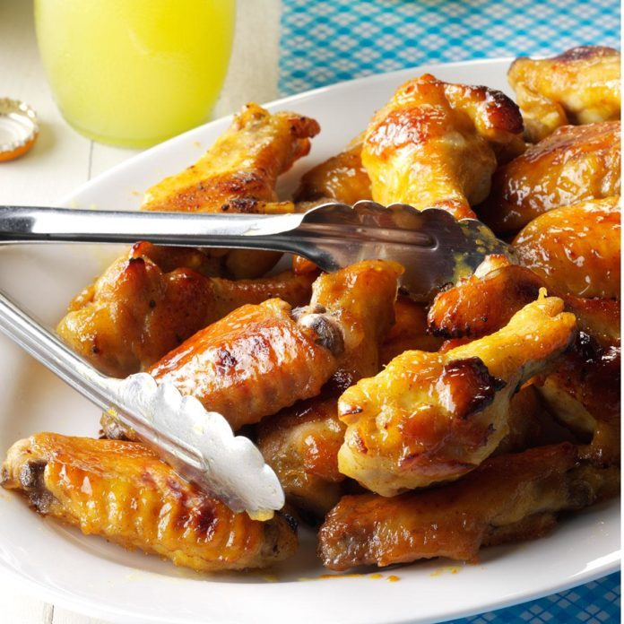 Inspired by: Bar Wings with Sweet Honey Dijon Sauce