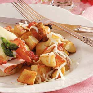 Mozzarella Potato Skillet
