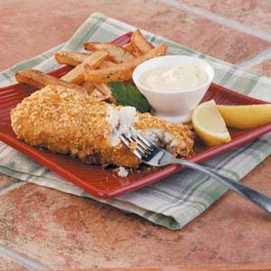 Baked Fish 'n' Chips