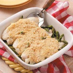 Asparagus Fish Bake