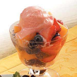 Sparkling Fresh Fruit