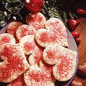 Oatmeal Valentine Cookies