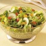 Cheddar 'n' Pea Tossed Salad