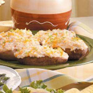 Cheese-Stuffed Double Bakers