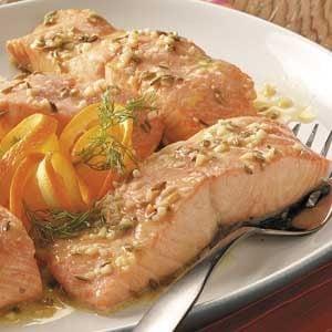 Savory Orange Salmon