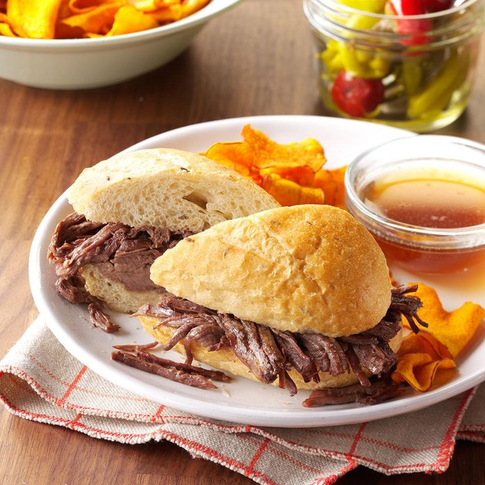 Day 10: French Dip Sandwiches