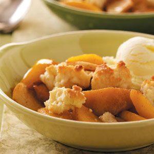 Apple Peach Cobbler