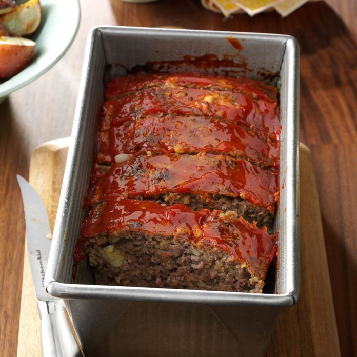 Meat Loaf with Oatmeal