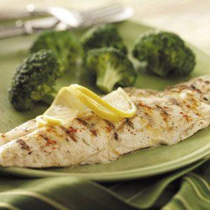 Grilled Dijon Fish
