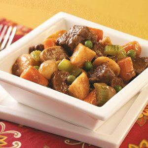 Apple Cider Beef Stew