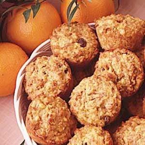 Orange Pecan Muffins