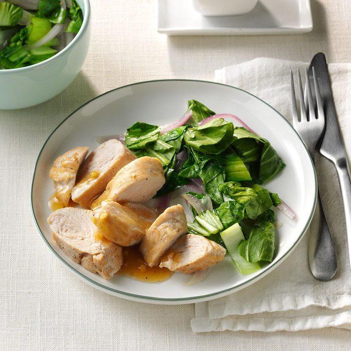 Day 27: Garlic-Ginger Turkey Tenderloins
