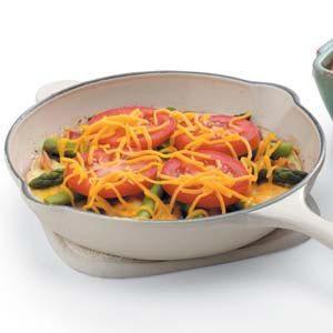 Tomato Asparagus Frittata