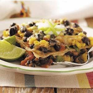 Meatless Mexican Lasagna