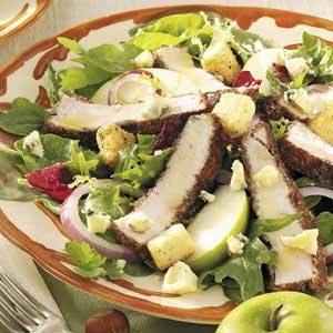 Honey-Mustard Turkey Salad
