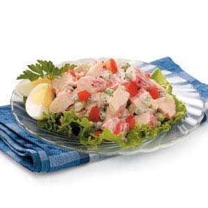 Mock Crab Louis Salad