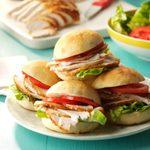 Seasoned Turkey Sandwiches