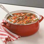 Turkey Meatballs and Vegetable Soup