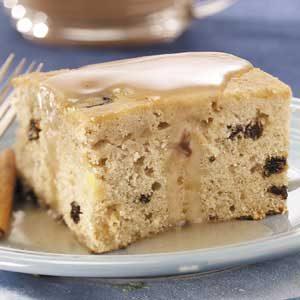 Apple Raisin Spice Cake