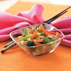 Quick Stir-Fried Vegetables