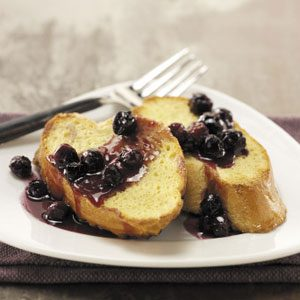 Lighter Blueberry French Toast