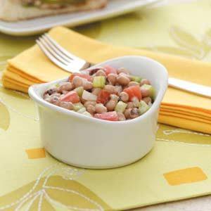 Creamy Black-Eyed Pea Salad