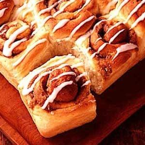 Cinnamon Potato Rolls