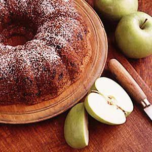 Country Apple Prune Cake