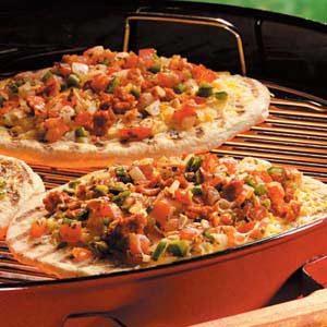 Salsa Chorizo Pizzas