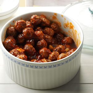 Crowd-Pleasing Party Meatballs