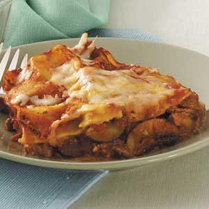 Zucchini Red Pepper Lasagna