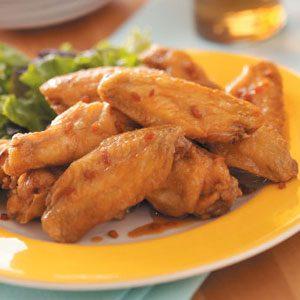 Szechuan Chicken Wings