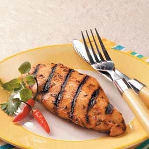 Quick Marinated Grilled Chicken