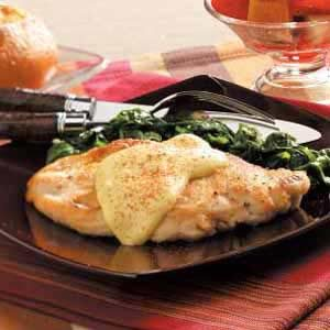 Dijon Chicken and Spinach
