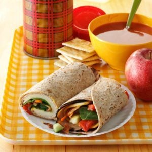 Turkey Lunch-Box Wraps