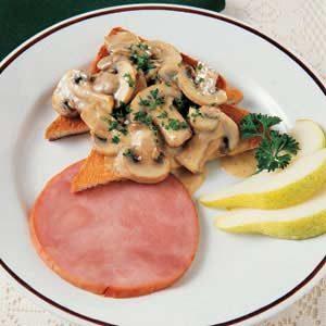 Mushroom Brunch Toast