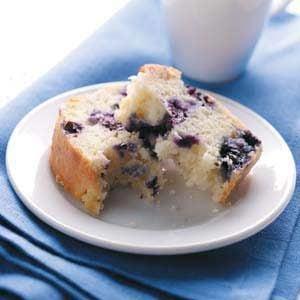 Contest-Winning Blueberry Quick Bread