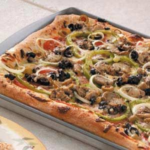 Olive Veggie Pizza