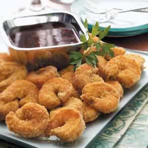 Breaded Curry Shrimp