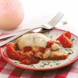 Smothered Chicken Italiano