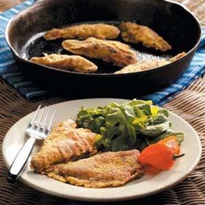 Southwestern Fried Perch