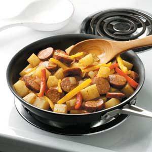 Polish Sausage and Veggies