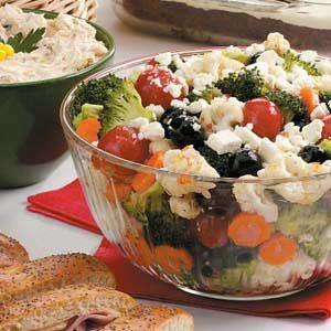 Olive Floret Salad