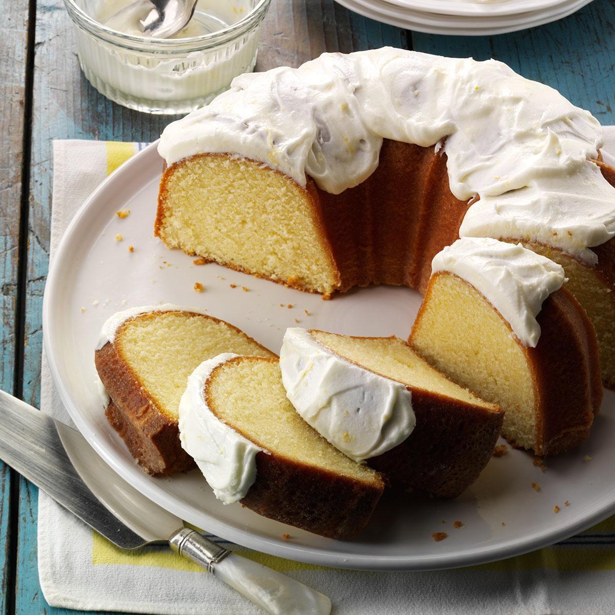 California Lemon Pound Cake
